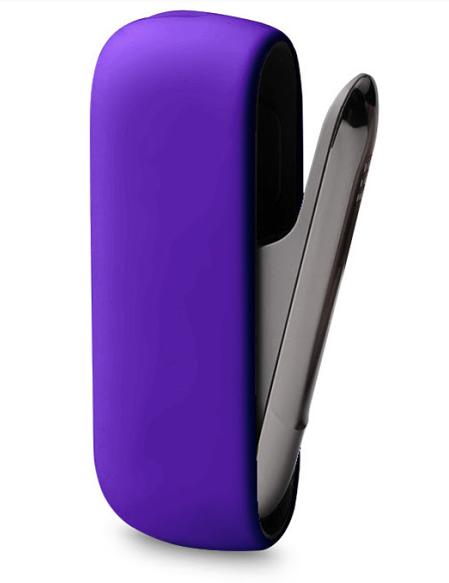 Levně Silikonový obal na Iqos 3 - Fialový