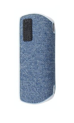 Levně Kožený obal na Iqos 3 - Dynamic Jeans Black