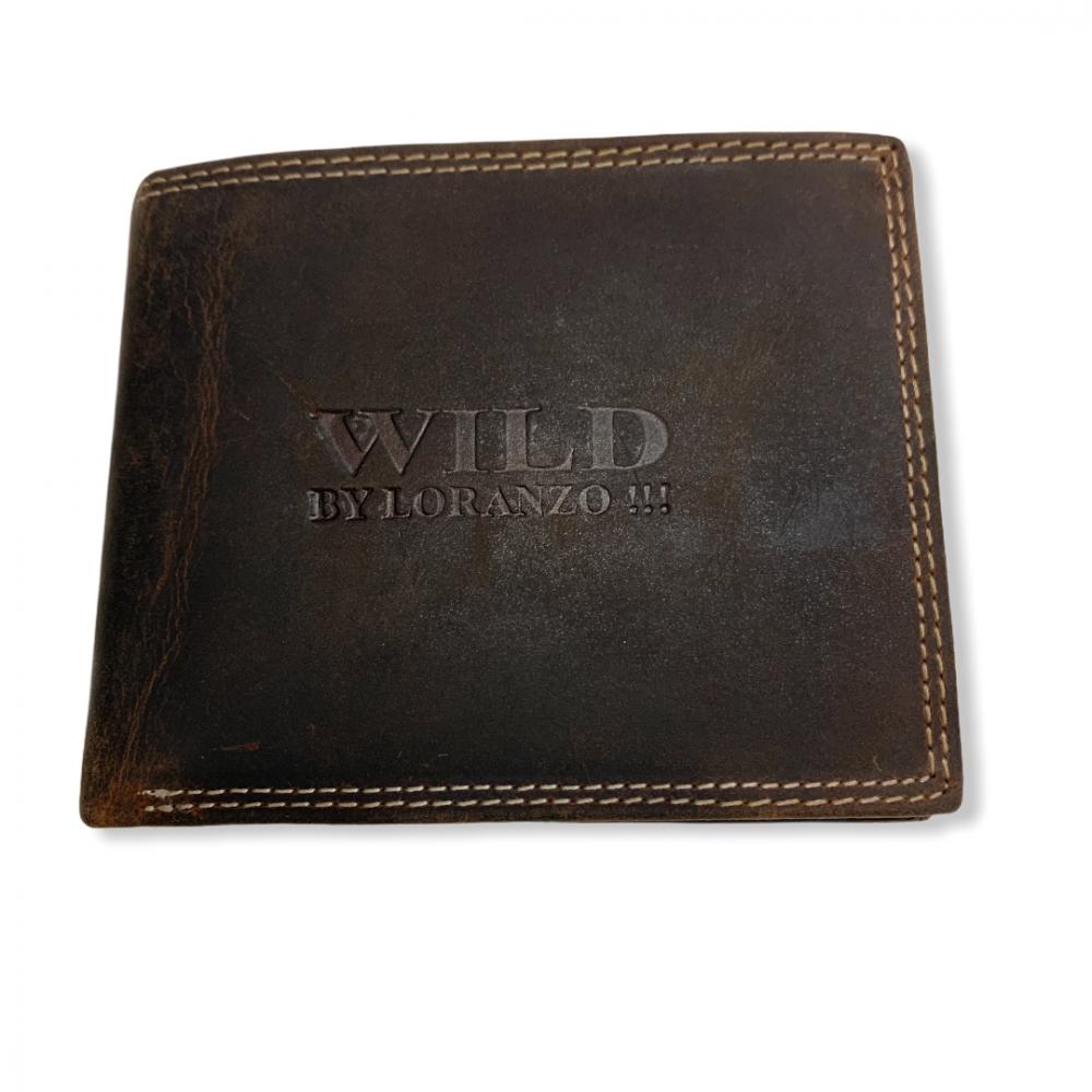 Pánska peňaženka Wild Loranzo, hnedá