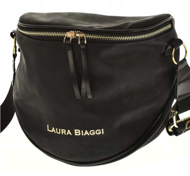 Dámska crossbody kabelka Laura Biaggi Lorient, čierna