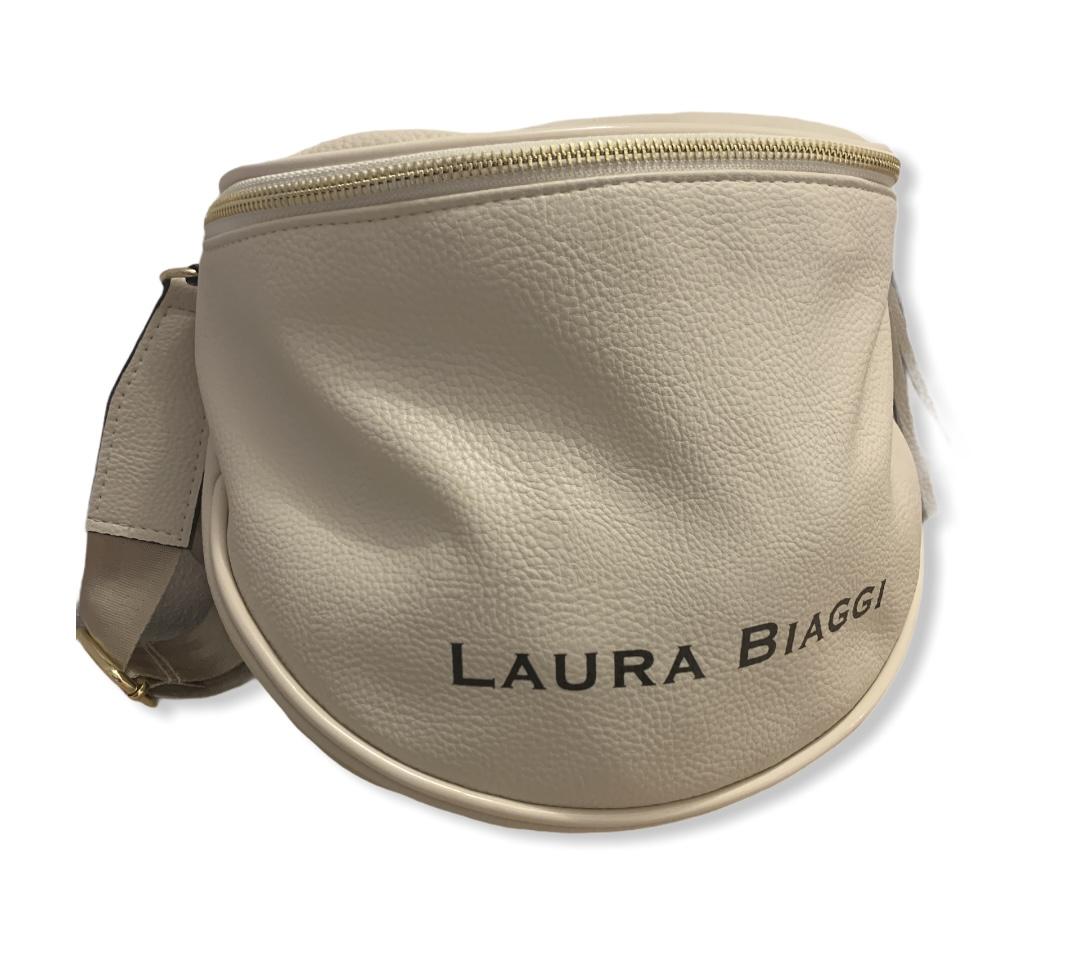 Dámska crossbody kabelka Laura Biaggi Lorient, béžová